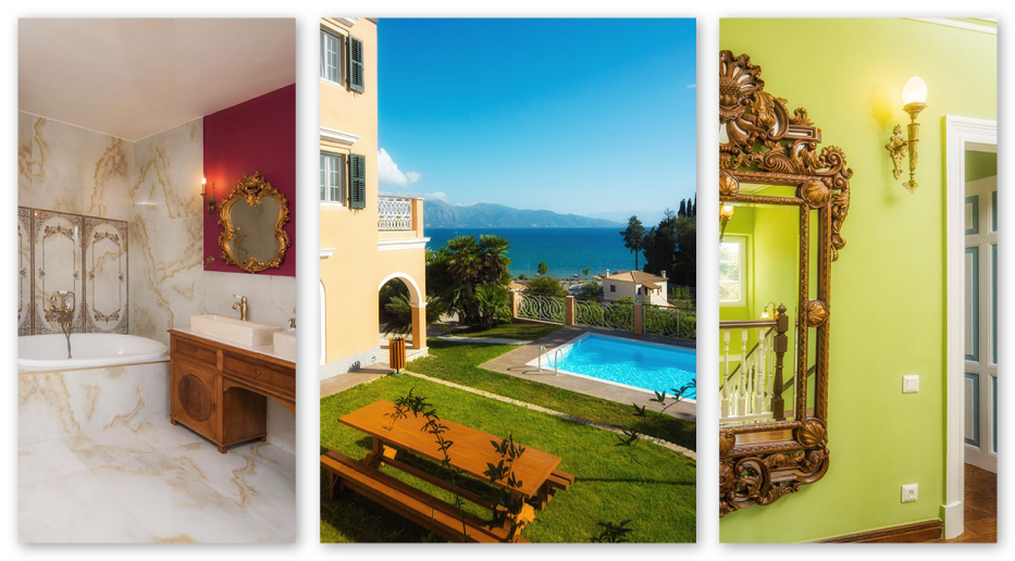 3 pictures of Villa 1870 Corfu