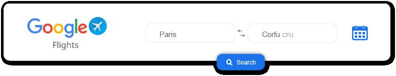 Banner that links to google flights